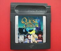 Quest for Camelot Nintendo Game Boy Color plays in Advance SP System