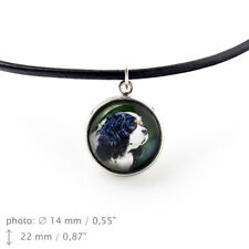 Cavalier, pendant for people who love dogs. Photojewelry. Handmade. UK