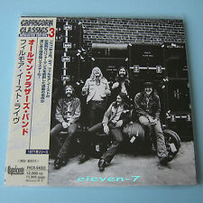 Allman Brothers Band at Fillmore East Japon MINI LP CD Brand New & STILL SEALED