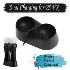 Dual Controller Charger Charging Station Dock for PS4 Playstation VR PSVR Move
