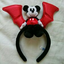 limiteTokyo Disney Resort Headband Mickey Halloween Dracula Headband Japan