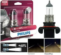 Philips VIsion Plus 60% 9008 H13 60/55W Two Bulbs Head Light Replacement ATV UTV