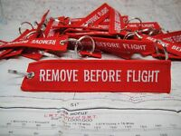 Remove Before Flight Keychain 10 Pack-Great for your Porsche 911, GSXR or Pilots