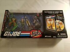 2008 GI Joe 25th Anniversary MASS Device DVD Battles Set 2 of 5