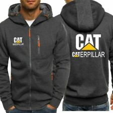 New Caterpillar Power Print Hoodie Sporty Sweatshirt Cosplay Jacket Spring Coat