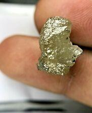 Grande Grezzo Uncut Diamante 8.78TCW Grigiastro Giallo Luccicante Naturale