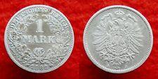 Germany / Empire - 1 Mark 1882 J ~ silver