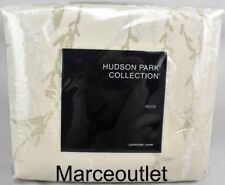 Hudson Park Reeds King Duvet Cover Gold