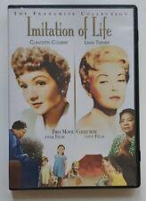 Imitation Of Life Original. REGION 1. DVD 1934+1959 VERY RARE