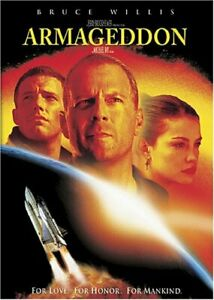 Armageddon DVD Bruce Willis Widescreen