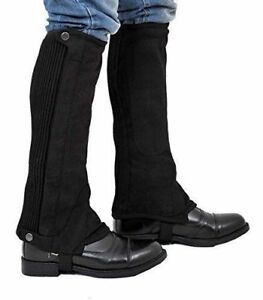 Riders Trend Chaps Kids 100449-B (CM,Calf 10.50-12)x Height-12 Inch Black size M