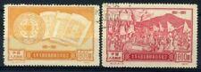 Cina 1951 Mi. 130-131 Usato 100% Centenario della Rivoluzione Taiping