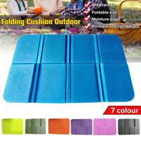 Portable Outdoor Folding Mat Camping Pad Seat Foam Waterproof Cushion