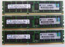 24GB (3x8GB)  DELL Precision R5500 T5500 T7500  PC3-10600R  DDR3 1333MHz ECC