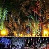 30cm LED Solar Meteor Shower Lights Falling Rain Drop Garden Yard Outdoor Decor