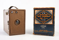 Agfa Ansco Antar No 2A 2 1/2 x 4 1/4'' Box Camera Vogue Model Original Box V13