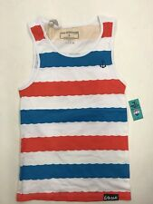 Pink Dolphin Wave Stripe Embroidered Dolphin Anchor Mens Medium Nice New Rare
