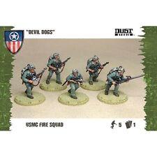 "dust tactics allies USMC Fire squad ""Devil dogs"" (New) (Sealed)"