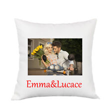 Personalised Cushion Case Pillow Cover Custom Print Name Photo Text Party Gift