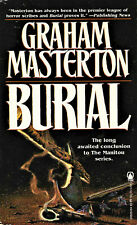 Burial by Graham Masterton, TOR Books 1st edition paperback, February 1996