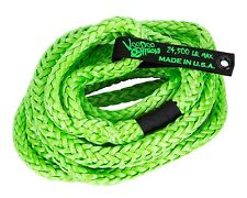 3/4 x 20 Voodoo Offroad GREEN RECOVERY ROPE 24,500 lb 38% stretch KINETIC ENERGY