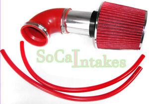 Red Intake Kit &Filter For 2001-2004 Dodge Stratus 2.7L V6