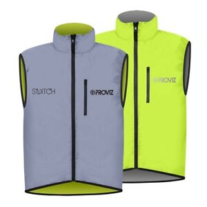 Proviz Switch Hi Viz Men's Cycling Gilet Yellow / Reflective Hi Visibility