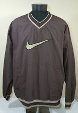 Vtg Nike Air Jacket Windbreaker Pullover 90s Swoosh Jordan Coat Men XL