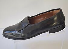 Bruno Magli VITTO Men's 11M Black Kiltie Wingtip Loafer Leather Shoes