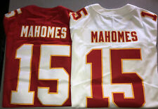 Patrick Mahomes Chiefs Red Super Bowl White Away Vapor Limited AUTHENTIC Jerseys