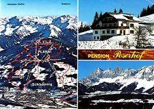 Schladming , Pension Poserhof , Ansichtskarte, gelaufen