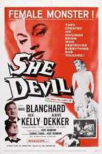 She Devil Cartel 01 A4 10x8 impresión fotográfica
