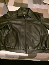 mens croft and barrow Wilsons leather jacket bomber size XL