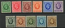 GB 1934 Photogravure sg439-449 Unmounted MINT STAMPS buona PERFS