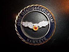 USSTRATCOM Joint Intellegence Center HAWKEYES NFO DIECUT Challenge Coin