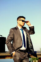 PREMIUM Qualität Herren Anzug Dunkegrau Neu gr 48 Slimfit Grau Keskin Costum