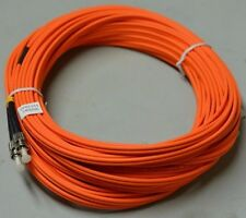18m OM1 62.5/125 Fibre Optic ST-ST Duplex Patchlead Cable Patchcord