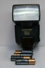 Warranty! Bounce Flash for Canon Eos film cameras by Quantaray w/ new batteries