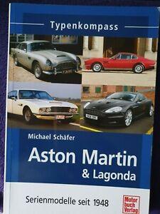 Typenkompass Aston Martin & Lagonda Serienmodelle seit 1948 + Flyer auf Englisch