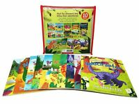 Dinosaur Adventures 10 Books Collection Set - Cove Picture Flats
