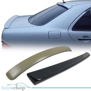 Fit For Mercedes Benz W210 E Class Sedan E320 E350 Rear Roof + Trunk Spoiler 01