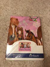 Spiegelburg Duvet Cover Single Girls Horse Friends Pink w Pillow Cover