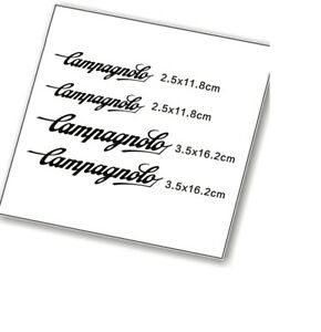 Frame Sticker Set for Campagnolo CP  MTB Mountain Bicycle Road Bike Cycle Decals
