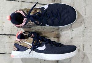 Nike Metcon DSX Flyknit 2 Train Shoe College Navy Pink 924595-404 WOMENS SIZE 11
