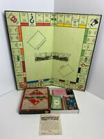 Rare Vintage Wartime - Monopoly Board Game - Waddingtons COMPLETE