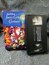Jiminy Crickets Christmas (-VHS, 1997)