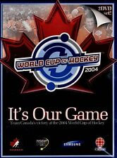 NEW 2DVD SET - 2004 WORLD CUP HOCKEY CHAMPIONSHIPS - TEAM CANADA