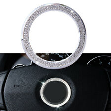 "2.28""Bling Steering wheel Logo Diamond Ring Cover Sticker For BMW x1 x3 x4 x5 x6"