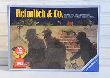 Heimlich & Co • Ravensburger • Brettspiel • Spiel des Jahres 1986 • Komplett