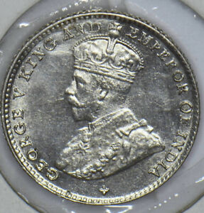 Straits Settlements 1919 George V 5 Cents 291139 combine shipping